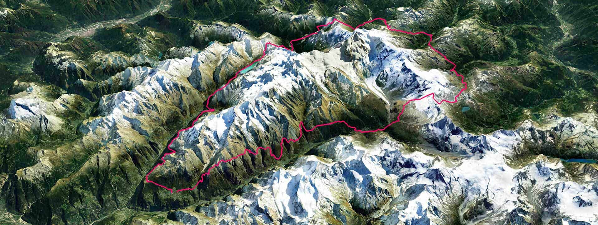Ultra Tour Monte Rosa route GPS