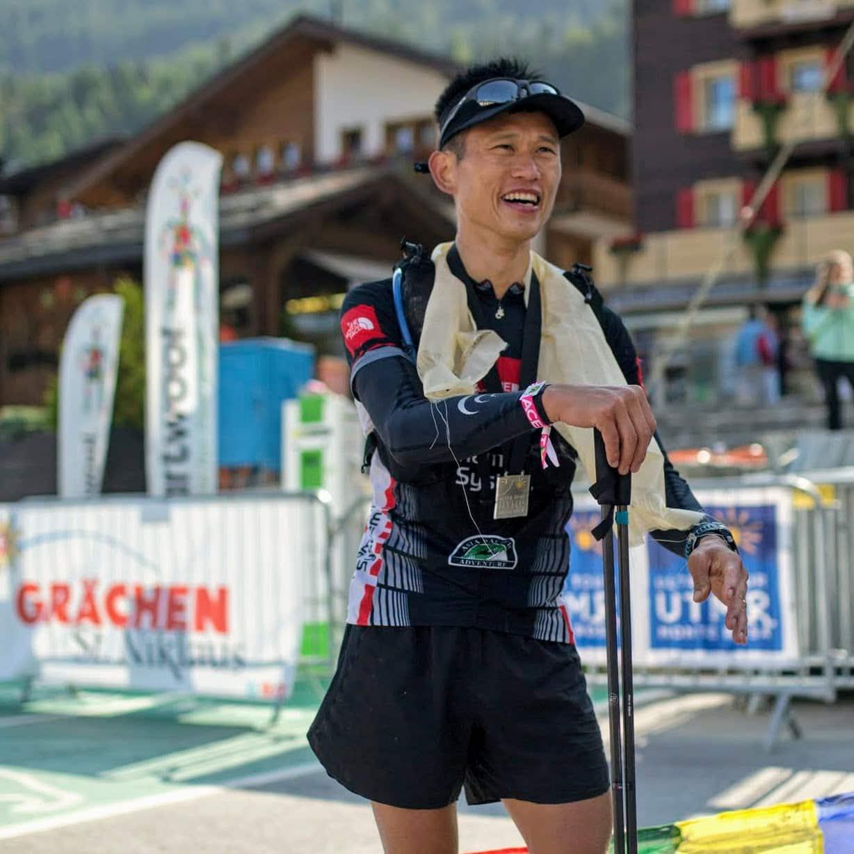 Stone Tsang ultra runner