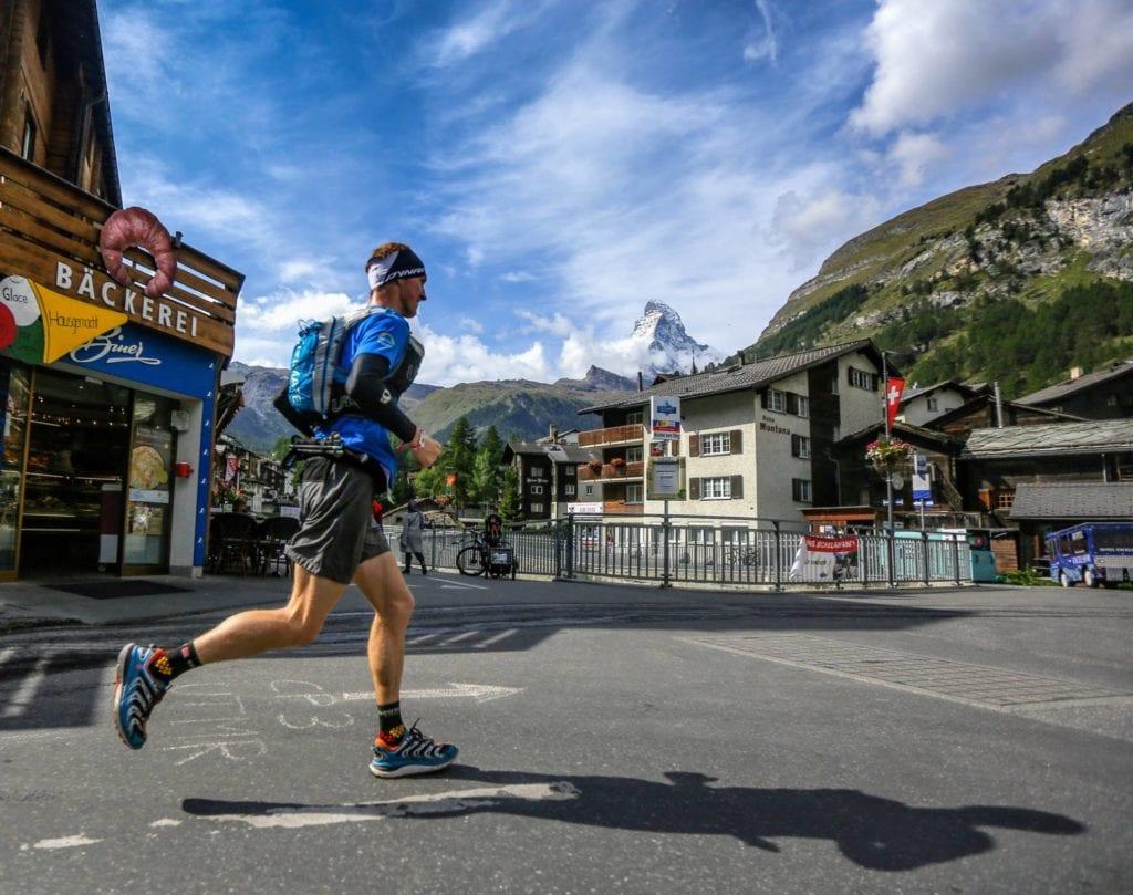 runner in zermatt