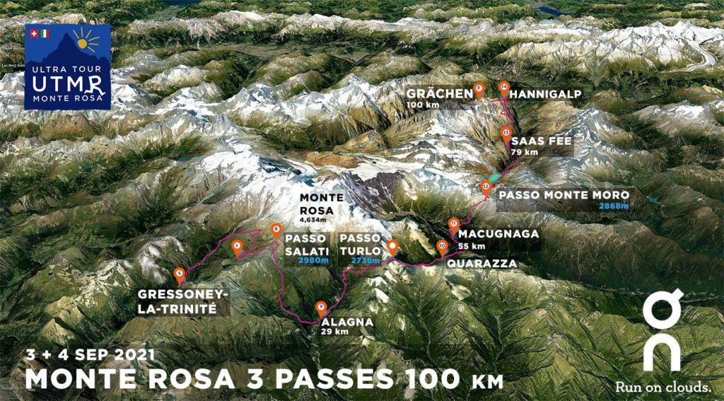 La UTMR 100 km 3 pasa por la ruta 2021