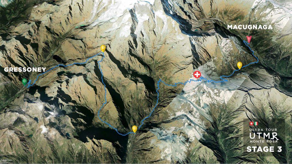 UTMR étape terrestre 3 piste 2021