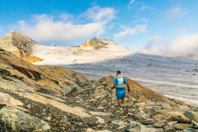 Trailrunning auf dem Gletscher