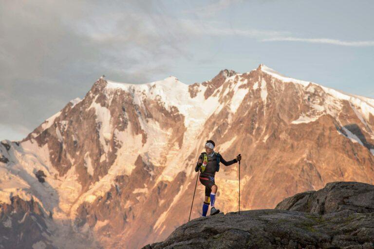 monte rosa ultra trail runner