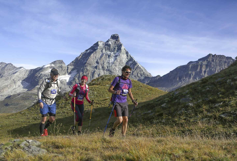 3 ultra runners cervino